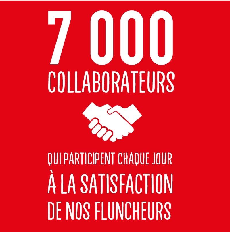 7000 collaborateurs - flunch franchise