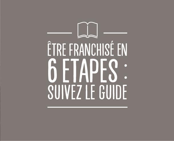 etre franchise en 6 etapes - flunch franchise