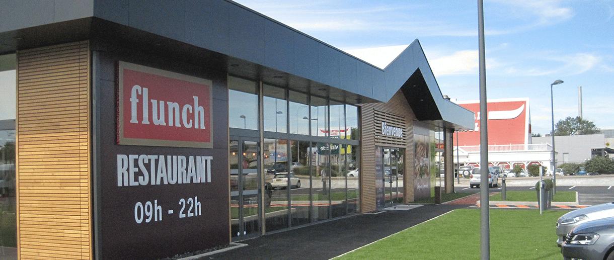 facade exterieur flunch - flunch franchise