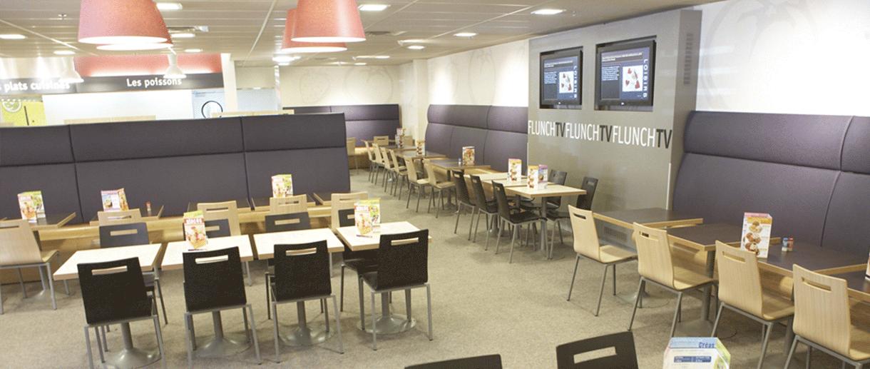 photo salle restaurant flunch - flunch franchise